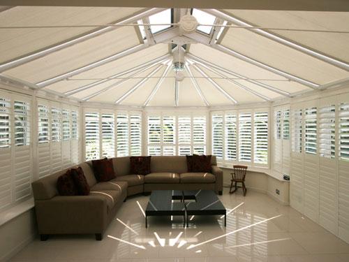 Roller Roof Blinds Roof Blinds Conservatory Roof