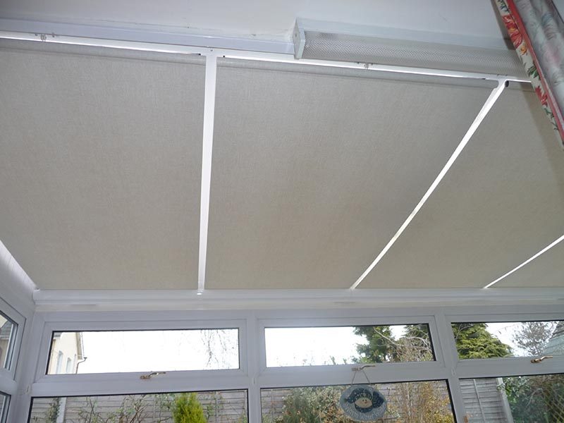 Roller Roof Blinds Conservatory
