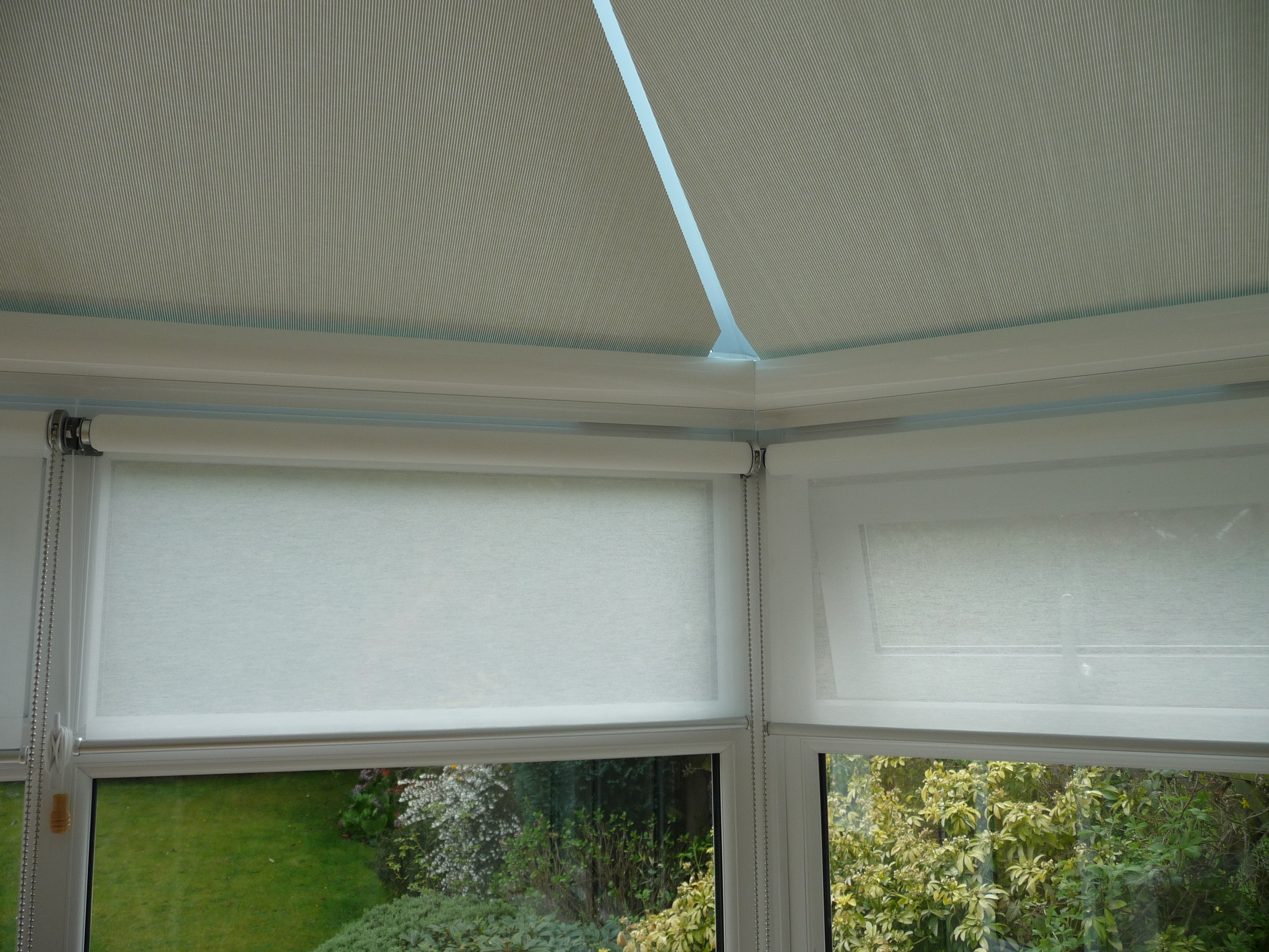 Conservatory Roller Blinds Made To Measure Conservatory Blinds From Prestige Blinds